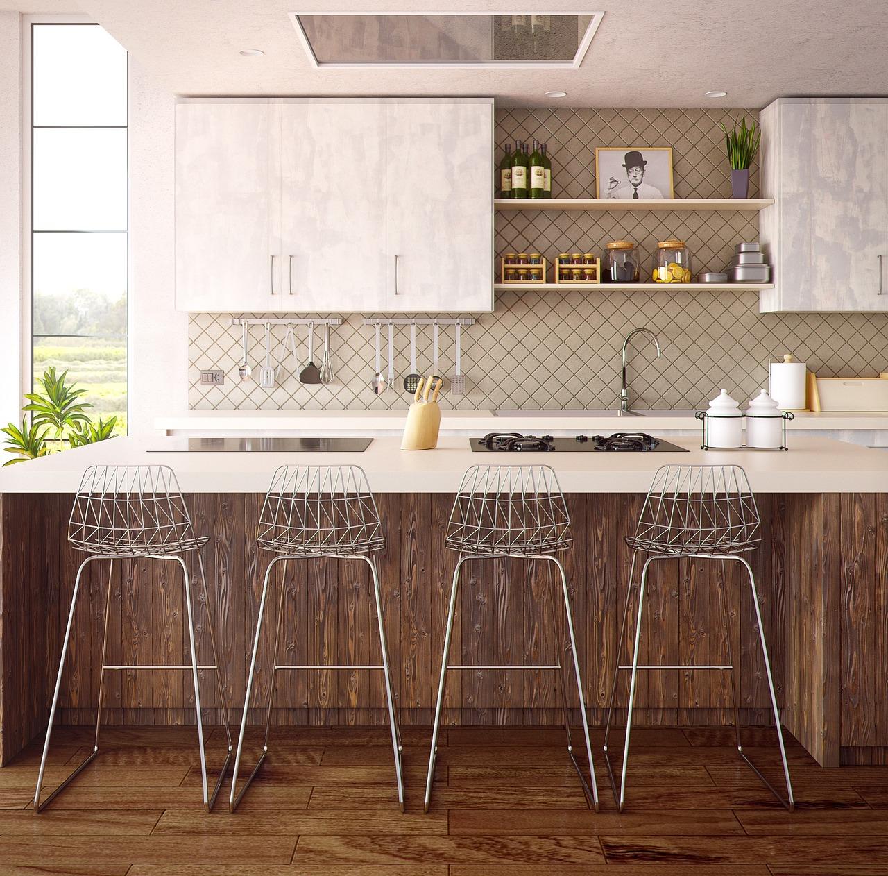 Przestrzeń kuchenna bez mebli?